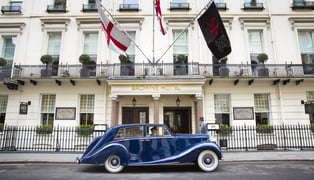 Brown's-hotel-london-–-vintage-car-transfer-blue-baron-4229