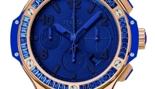 Hublot big bang tutti frutti gold dark blue
