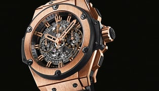 Hublot-king-power-unico-gold