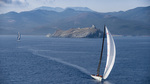 At_the_front_of_the_giraglia_rolex_cup_fleet,_momo_leads_caol_ila_r_after_rounding_the_giraglia_rock
