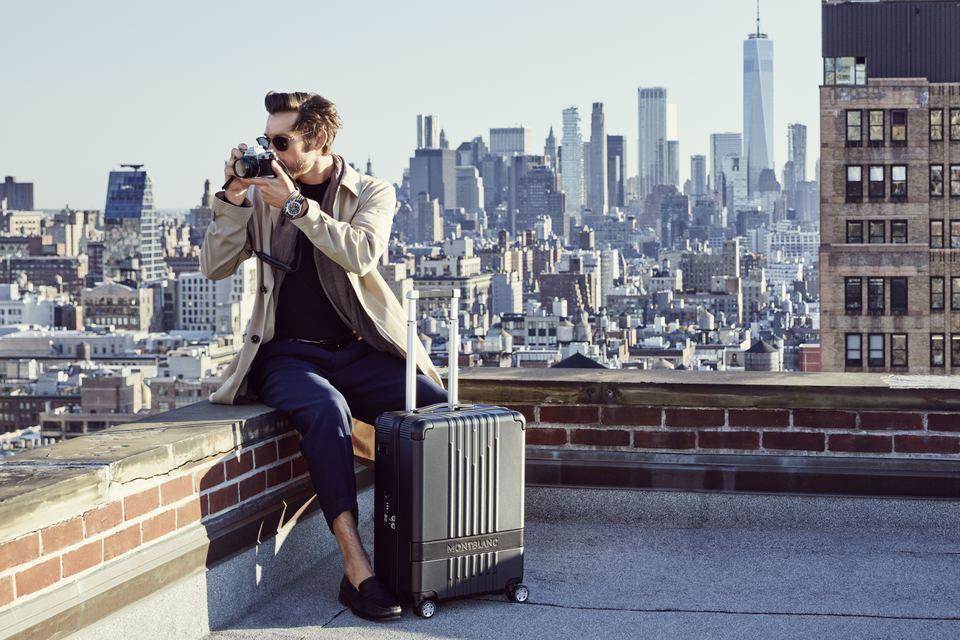cbe0cfa8 Дом Montblanc представляет #MY4810 — новую коллекцию чемоданов в пяти  размерных вариантах.